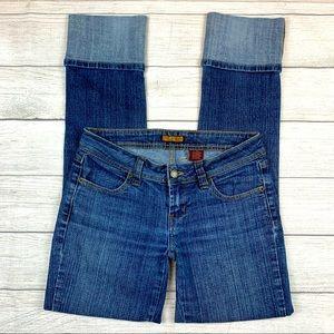Zana Di ZD Cuffed Capri Blue Jeans JJ5351RS4